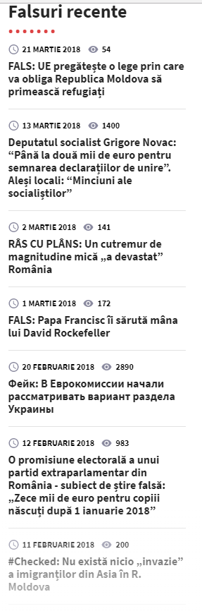 Captură site stopfals.md
