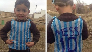 Lionel Messi meets Afghan boy who became viral star (VIDEO)