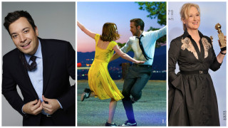 La La Land wins record seven Golden Globes as Moonlight takes best drama