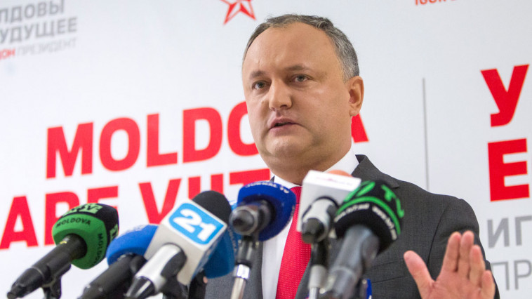 Igor Dodon, gave his true face: combating Romania without gloves, with Russian help