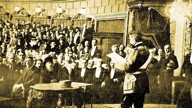 Pe 9 mai 1877, Mihail Kogălniceanu a proclamat independența României