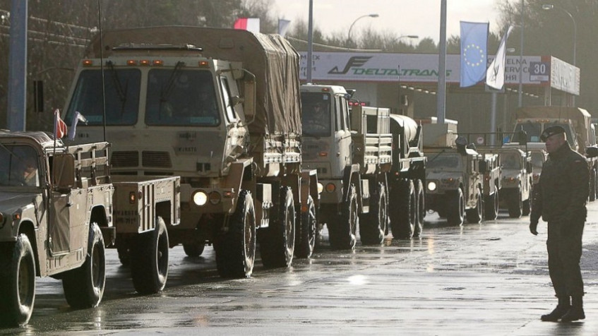 US troops enter Poland, 1st NATO deployment is at Russia's doorstep