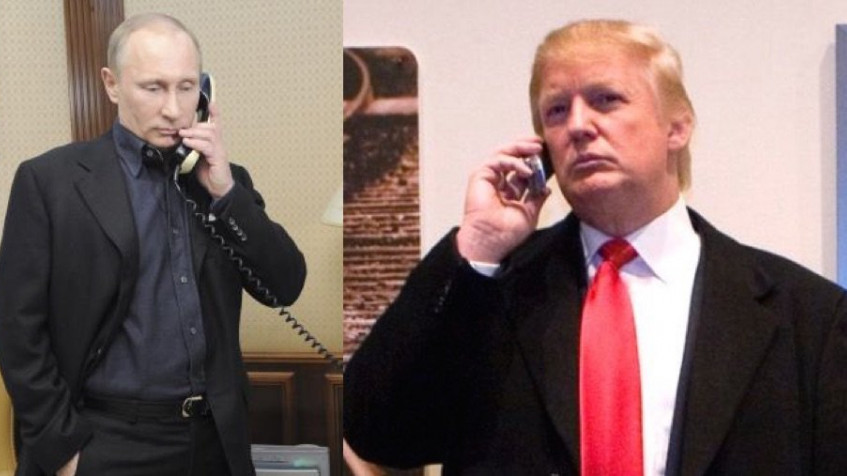 Russia // This Saturday Putin will discuss with Trump on the phone