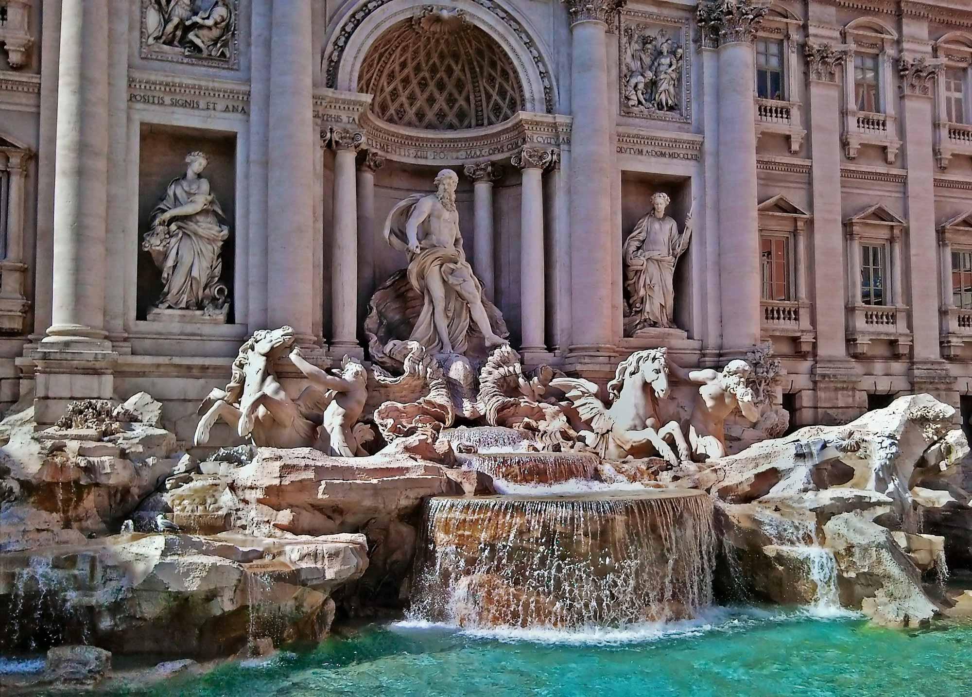 Фонтан Рим Италия без смс