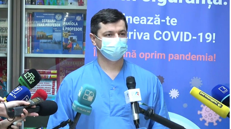 ВИДЕО, ФОТО (ОБНОВЛЕНИЕ) Заявления первого медицинского работника в Республике Молдова, вакцинированного против COVID-19